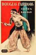 "Movie Posters:Adventure, The Thief of Bagdad (United Artists, 1924). Swedish One Sheet(23.25"" X 35"").. ..."