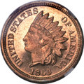 Proof Indian Cents, 1863 1C PR67 Cameo NGC....
