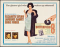 "Movie Posters:Drama, Butterfield 8 (MGM, 1960). Half Sheet (22"" X 28"") Style B. Drama.. ..."