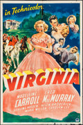 """Movie Posters:Romance, Virginia (Paramount, 1941). One Sheet (27"""" X 41"""") and Lobby Card Set of 8 (11"""" X 14""""). Romance.. ... (Total: 9 Items)"""