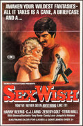 "Movie Posters:Adult, Sex Wish & Other Lot (1976). Poster (25"" X 38"") and One Sheet (27"" X 41""). Adult.. ... (Total: 2 Items)"