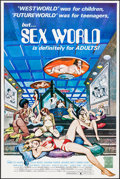 "Movie Posters:Adult, Sex World & Other Lot (CFP, 1978). One Sheets (2) (25"" X 37.5"", 27"" X 41""). Adult.. ... (Total: 2 Items)"
