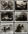 "Movie Posters:Fantasy, The Mermaids of Tiburon (Film Group, 1962). Photos (6) (8"" X 10"").Fantasy.. ... (Total: 6 Items)"