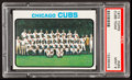 Baseball Cards:Singles (1970-Now), 1973 Topps Cubs Team #464 PSA Mint 9....