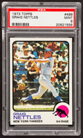 Baseball Cards:Singles (1970-Now), 1973 Topps Graig Nettles #498 PSA Mint 9....