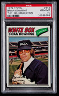 Baseball Cards:Singles (1970-Now), 1977 Topps Brian Downing #344 PSA Gem Mint 10 - Pop One. ...