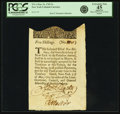 Colonial Notes:New York, Colony of New York May 31, 1709 5 Shillings (a) Fr. NY-1. PCGSExtremely Fine 45 Apparent.. ...