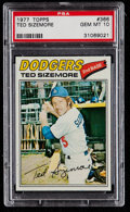 Baseball Cards:Singles (1970-Now), 1977 Topps Ted Sizemore #366 PSA Gem Mint 10....