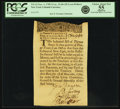 Colonial Notes:New York, Colony of New York November 1, 1709 Lyon Dollars Issue 20 Lyon Dollars (13 Oz., 15 Dws.) Fr. NY-12. PCGS Choice About New 55 A...