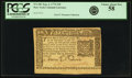 Colonial Notes:New York, Colony of New York September 2, 1775 $10 Fr. NY-181. PCGS ChoiceAbout New 58.. ...