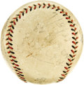 "Baseball Collectibles:Balls, 1932 Lewis ""Hack"" Wilson Home Run Baseball. While home run baseballs from Hall of Fame luminaries from Frank Baker to Babe ..."