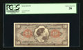 Military Payment Certificates:Series 641, Series 641 $10 PCGS Choice About New 58....