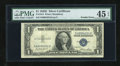 Error Notes:Obstruction Errors, Double Error Fr. 1614 $1 1935E Silver Certificate. PMG ChoiceExtremely Fine 45 EPQ.. ...