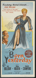 "Movie Posters:Comedy, Born Yesterday (Columbia, 1951). Australian Daybill (13.25"" X 30""). Comedy. ..."