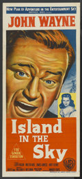 "Movie Posters:Adventure, Island in the Sky (Warner Brothers, 1953). Australian Daybill (13""X 30""). Adventure. ..."