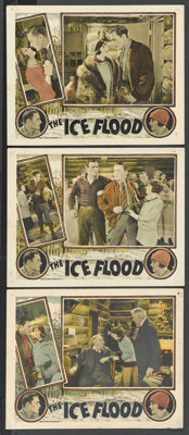 """The Ice Flood (Universal, 1926). Lobby Cards (3) (11"""" X 14""""). Action.... (Total: 3 Items)"""