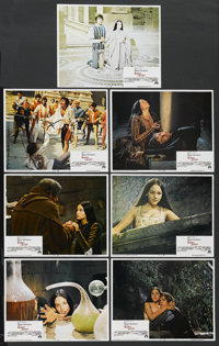 """Romeo and Juliet (Paramount, 1968). Lobby Cards (7) (11"""" X 14""""). Drama. ... (Total: 7 Item)"""