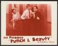 """Movie Posters:Sports, Punch and Beauty (Vitaphone, 1936). Lobby Card (11"""" X 14""""). Sports Short Subject. ..."""
