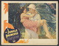 "Movie Posters:Adventure, The Jungle Princess (Paramount, 1936). Lobby Card (11"" X 14"").Adventure. ..."