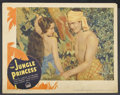 "Movie Posters:Adventure, The Jungle Princess (Paramount, 1936). Lobby Card (11"" X 14""). Adventure. ..."