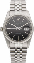 Baseball Collectibles:Others, 1984 Joe DiMaggio Seventieth Birthday Presentational Rolex Wristwatch. Classic Rolex Oyster Perpetual Datejust stainless st...