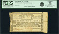Colonial Notes:New Hampshire, New Hampshire August 24, 1775 10 Shillings Fr. NH-138. PCGS VeryFine 25 Apparent.. ...