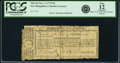 Colonial Notes:New Hampshire, New Hampshire November 3, 1775 9 Pence Fr. NH-143. PCGS Fine 12Apparent.. ...