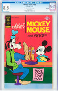Bronze Age (1970-1979):Cartoon Character, Mickey Mouse #160 File Copy (Gold Key, 1975) CGC VF+ 8.5 Off-whiteto white pages....