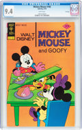 Bronze Age (1970-1979):Cartoon Character, Mickey Mouse #166 File Copy (Gold Key, 1976) CGC NM 9.4 Whitepages....