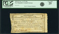Colonial Notes:New Hampshire, New Hampshire November 3, 1775 30 Shillings Fr. NH-151. PCGS Very Fine 25.. ...