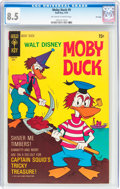 Bronze Age (1970-1979):Cartoon Character, Moby Duck #9 File Copy (Gold Key/Whitman, 1970) CGC VF+ 8.5Off-white to white pages....