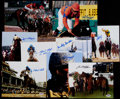Miscellaneous Collectibles:General, Hall of Fame Jockeys Signed Photographs Lot of 10. ...