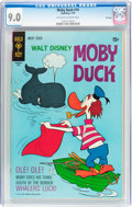 Bronze Age (1970-1979):Cartoon Character, Moby Duck #10 File Copy (Gold Key/Whitman, 1970) CGC VF/NM 9.0Off-white to white pages....