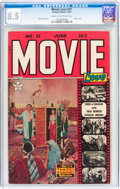 Golden Age (1938-1955):Romance, Movie Love #21 (Famous Funnies, 1953) CGC VF+ 8.5 Cream tooff-white pages....