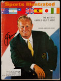 Golf Collectibles:Autographs, 1967 Jack Nicklaus Signed Sports Illustrated Magazine....