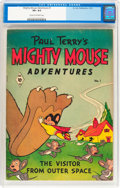 Golden Age (1938-1955):Cartoon Character, Mighty Mouse Adventures #1 (St. John, 1951) CGC VF+ 8.5 Cream tooff-white pages....
