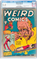 Golden Age (1938-1955):Horror, Weird Comics #5 (Fox Features Syndicate, 1940) CGC VG/FN 5.0Off-white pages....