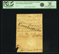 Colonial Notes:North Carolina, North Carolina November 27, 1729 5 Pounds Handwritten ContemporaryCounterfeit Fr. NC-34. PCGS Very Fine 30 Apparent.. ...