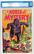 Silver Age (1956-1969):Horror, House of Mystery #110 (DC, 1961) CGC VF/NM 9.0 Off-white pages....