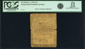 Colonial Notes:Pennsylvania, Pennsylvania October 1, 1755 10 Shillings Fr. PA-68. PCGS Fine 12Apparent.. ...