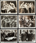 """Movie Posters:Crime, Crime School (Warner Brothers, 1938). Photos (6) (8"""" X 10"""").Crime.. ... (Total: 6 Items)"""