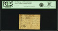 Colonial Notes:North Carolina, North Carolina April 2, 1776 $1/16 Beetle Fr. NC-153a. PCGS VeryFine 20 Apparent.. ...