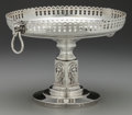 Silver & Vertu:Hollowware, A William Gale & Son Silver Tazza with Medallions, New York, New York , circa 1862. Marks: W. GALE & SON, (WG&S within r...