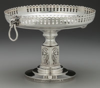 A William Gale & Son Silver Tazza with Medallions, New York, New York , circa 1862 Marks: W. GALE & SON