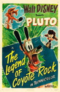 "Movie Posters:Animation, The Legend of Coyote Rock (RKO, 1945). One Sheet (27"" X 41"").. ..."