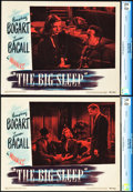 "Movie Posters:Film Noir, The Big Sleep (Warner Brothers, 1946). CGC Graded Lobby Cards (2)(11"" X 14"").. ... (Total: 2 Items)"