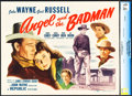 """Movie Posters:Western, Angel and the Badman (Republic, 1947). CGC Graded Title Lobby Card (11"""" X 14"""").. ..."""