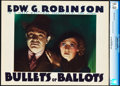 "Movie Posters:Crime, Bullets or Ballots (Warner Brothers, 1936). CGC Graded Lobby Card(11"" X 14"").. ..."