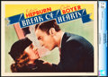 "Movie Posters:Romance, Break of Hearts (RKO, 1935). CGC Graded Lobby Card (11"" X 14"")....."