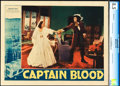 "Movie Posters:Adventure, Captain Blood (Warner Brothers, 1935). CGC Graded Lobby Card (11"" X14"").. ..."